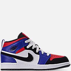 Little Kids' Air Jordan 1 Mid Basketball Shoes