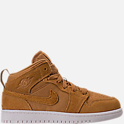 Kids' Preschool Air Jordan 1 Mid Basketball Shoes