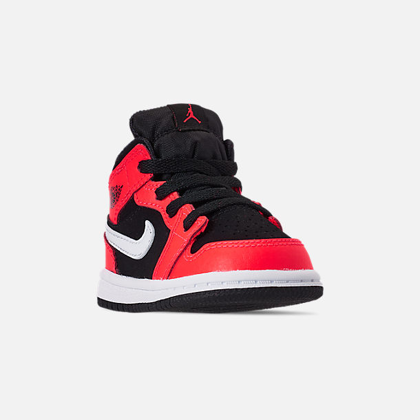 84e365b8e441b Kids' Toddler Air Jordan 1 Mid Retro Basketball Shoes