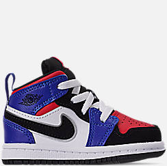 bae906c12e72af Kids  Toddler Air Jordan 1 Mid Retro Basketball Shoes