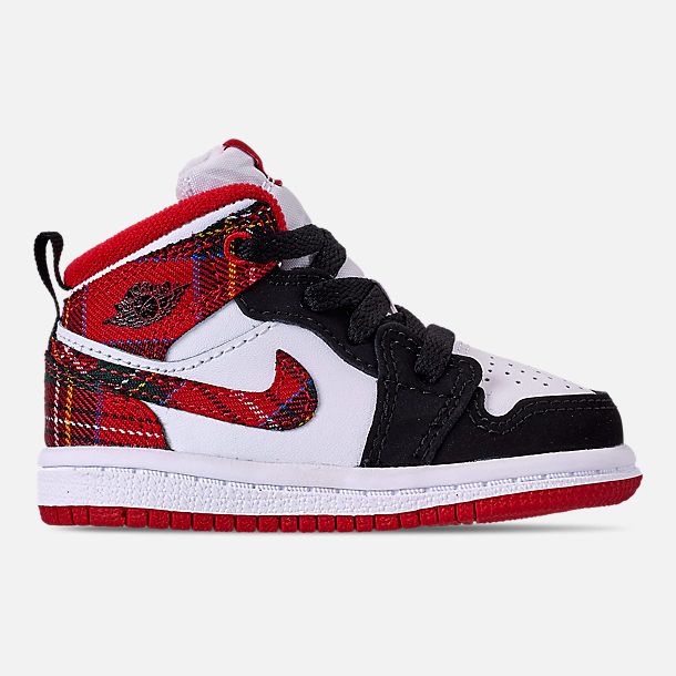best website e0d02 655c0 Right view of Kids' Toddler Air Jordan 1 Mid Retro Basketball Shoes