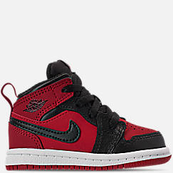 Kids' Toddler Air Jordan 1 Mid Retro Basketball Shoes