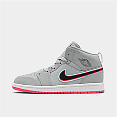 Girls' Little Kids' Air Jordan 1 Mid Casual Shoes