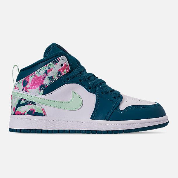 hot sale online 9dac4 c5c7c Girls' Little Kids' Air Jordan 1 Mid Casual Shoes