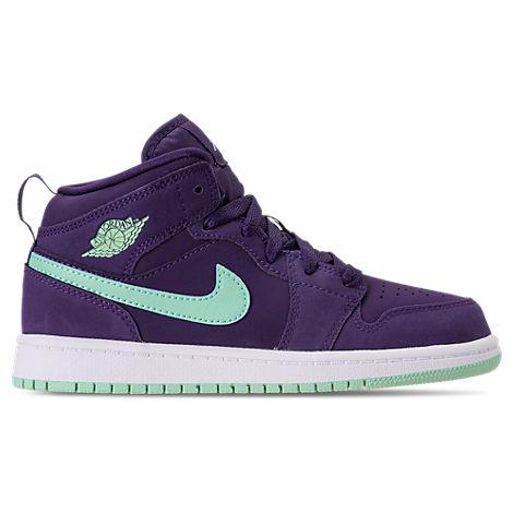 finest selection eef07 3a9f3 Nike Girls  Preschool Air Jordan 1 Mid Basketball Shoes