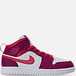 Girls' Little Kids' Air Jordan 1 Mid Casual Shoes
