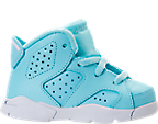 Girls' Toddler Jordan Retro 6 Basketball Shoes