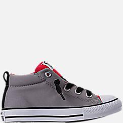 Boys' Preschool Converse Chuck Taylor Street Mid Casual Shoes