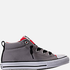 Boys' Grade School Converse Chuck Taylor Street Mid Casual Shoes