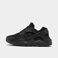 nike AIR HUARACHE BLACKFLT SILVER WHITE bei