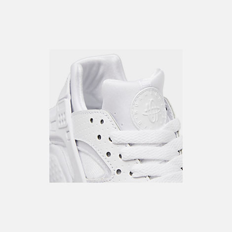 ef10227dd21b4 Front view of Big Kids  Nike Huarache Run Casual Shoes in White Pure  Platinum
