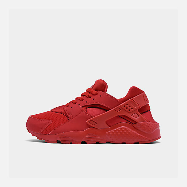best loved 8797e 18ca4 Right view of Big Kids  Nike Huarache Run Casual Shoes in University Red  University