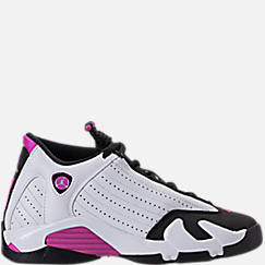 Girls' Big Kids' Air Jordan Retro 14 Basketball Shoes