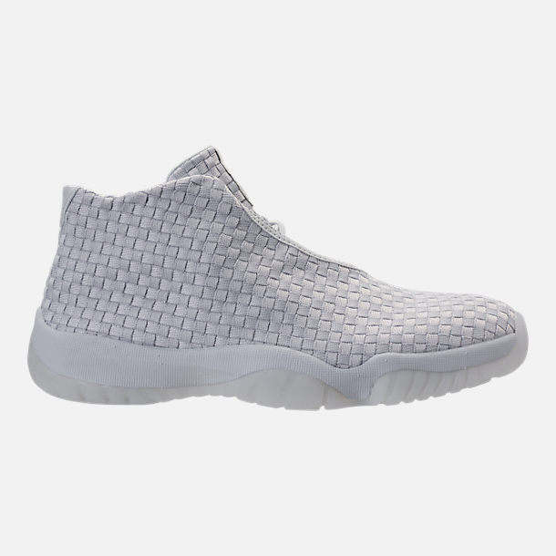 Right view of Men's Air Jordan Future Off-Court Shoes in Pure Platinum