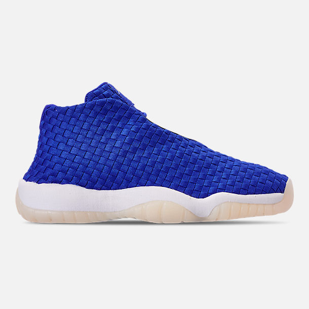 Right view of Boys' Big Kids' Air Jordan Future Basketball Shoes