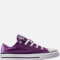 Girls' Preschool Converse Chuck Taylor Ox Velvet Casual Shoes