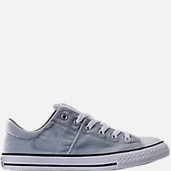 Girls' Grade School Converse Chuck Taylor Madison Ox Velvet Casual Shoes