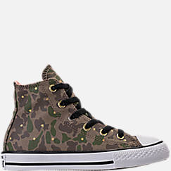 Girls' Preschool Converse Chuck Taylor High Top Casual Shoes