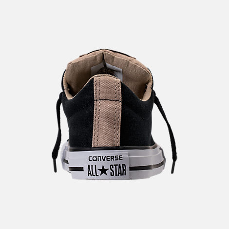 Back view of Boys' Preschool Converse Chuck Taylor All Star Street Casual Shoes in Vintage Khaki/Black/White