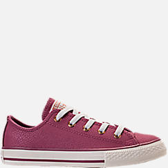 Girls' Preschool Converse Chuck Taylor Ox Leather Casual Shoes