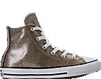 Girls' Preschool Converse Chuck Taylor High Top Glitter Casual Shoes