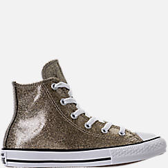 Girls' Preschool Converse Chuck Taylor High Top Glitter Casual Shoes