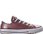Girls' Preschool Converse Chuck Taylor Ox Glitter Casual Shoes