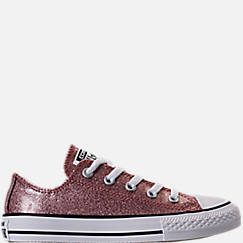 Girls' Preschool Converse Chuck Taylor Ox Glitter Casual Shoes