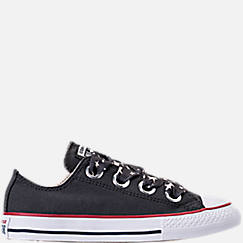 Girls' Preschool Converse Chuck Taylor All Star Big Eyelets Ox Casual Shoes