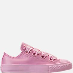 Girls' Grade School Converse Chuck Taylor All Star Big Eyelets Ox Casual Shoes