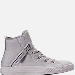 Girls' Preschool Converse Chuck Taylor All Star Pull Zip High Top Casual Shoes