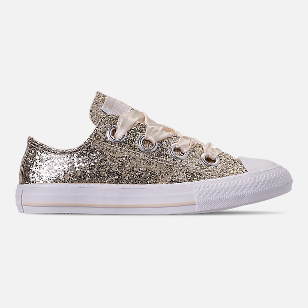 550419b047ad Right view of Girls  Little Kids  Converse Chuck Taylor All Star Sparkle  Big Eyelets