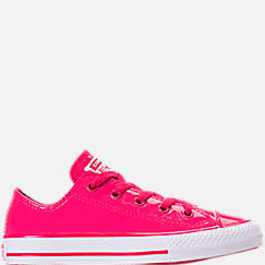Girls' Little Kids' Converse Chuck Taylor All Star Leather Ox Casual Shoes