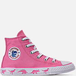 88c4e695646e45 Girls  Little Kids  Converse Chuck Taylor All Star Dinoverse High Top  Casual Shoes