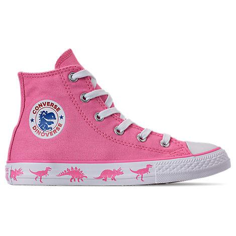 edd5d79bd3d Converse Girls' Little Kids' Chuck Taylor All Star Hello Kitty High Top  Casual Shoes