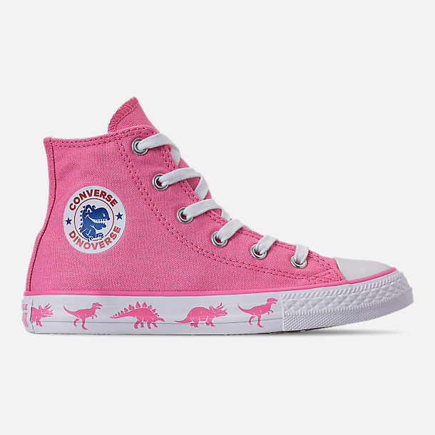 7569c055f3c7 Right view of Girls  Little Kids  Converse Chuck Taylor All Star Dinoverse  High Top