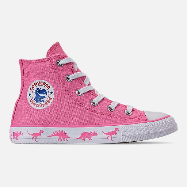 Right view of Girls  Little Kids  Converse Chuck Taylor All Star Dinoverse High  Top 2b59e0ebf