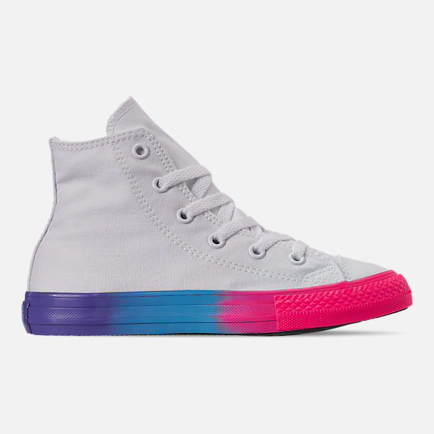 db00ce7fb36d Right view of Girls  Little Kids  Converse Chuck Taylor High Top Glitter  Casual Shoes