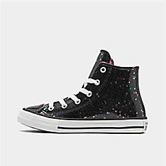 Girls' Little Kids' Converse Chuck Taylor Galaxy Glimmer High Top Casual Shoes