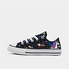 Girls' Little Kids' Converse Chuck Taylor Unicorns Low Top Casual Shoes