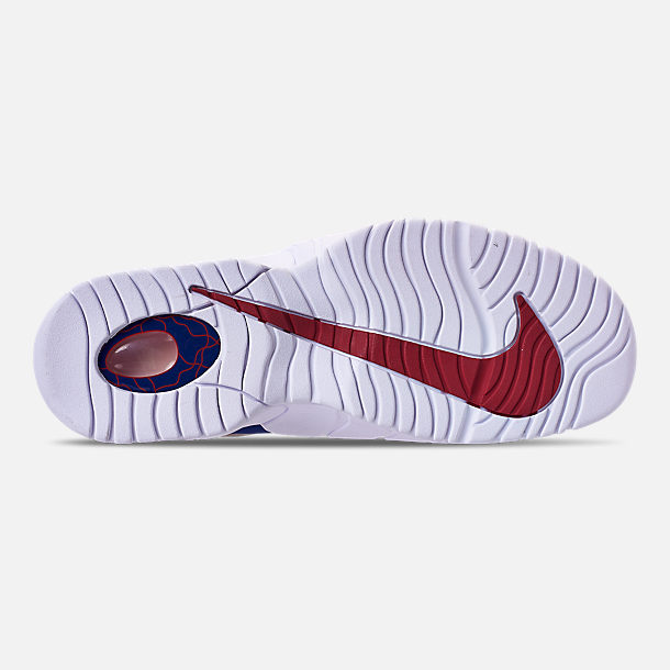 7256fc621855 ... norway bottom view of mens nike air max penny basketball shoes in deep  royal blue gym