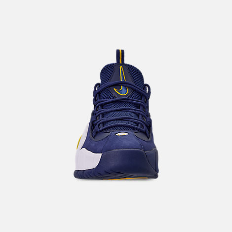 newest 1978c 01ac2 Front view of Men s Nike Air Max Penny Basketball Shoes in Deep  Royal Amarillo