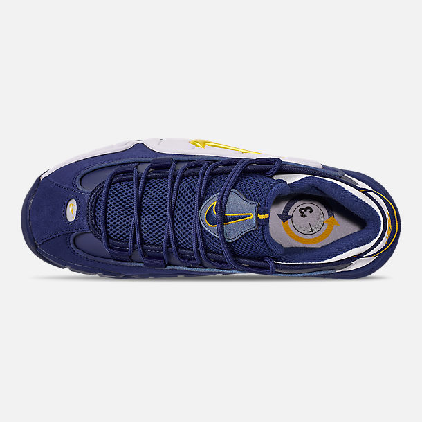 768c6fb228d5 Top view of Men s Nike Air Max Penny Basketball Shoes in Deep  Royal Amarillo