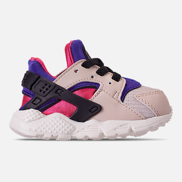 605a2a90999 Right view of Kids  Toddler Nike Huarache Run Casual Shoes in Desert  Sand Persian