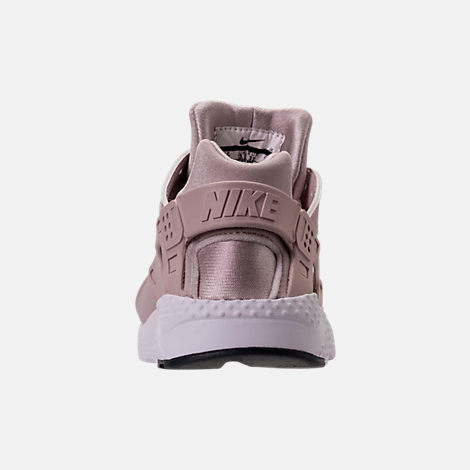 Back view of Girls' Preschool Nike Huarache Run Running Shoes in Particle Rose/Particle Rose/Thunder