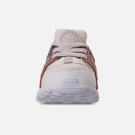 Front view of Kids' Toddler Nike Huarache Run Casual Shoes