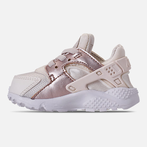 Left view of Kids' Toddler Nike Huarache Run Casual Shoes