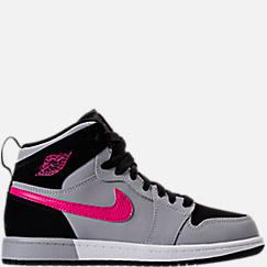 Girls' Preschool Jordan Retro 1 High Basketball Shoes