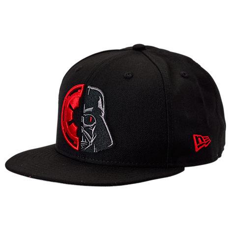 New Era Star Wars 9fifty Snapback Hat In Black