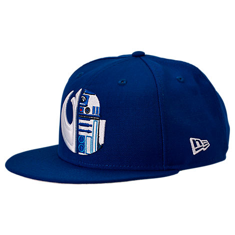 New Era Star Wars 9fifty Snapback Hat In Blue